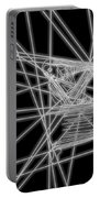 The Lines Of Martha Graham L Bw Portable Battery Charger