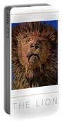 The Lion Poster Portable Battery Charger