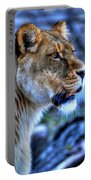 The Lioness Alert Portable Battery Charger