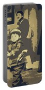 The Little Chinese Soldier Portable Battery Charger
