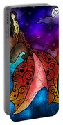 The Little Mermaid Portable Battery Charger by Mandie Manzano