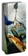 The Lobsterman Portable Battery Charger by Michelle Calkins