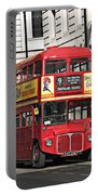 Vintage London Bus Portable Battery Charger