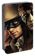The Lone Ranger Portable Battery Charger