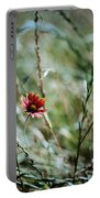 The Lonely Flower Portable Battery Charger