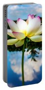 The Lotus Blossom Portable Battery Charger