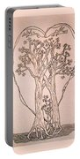 The Love And Celebration Of The Maple Tree Family Portable Battery Charger