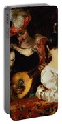The Lute Player Portable Battery Charger