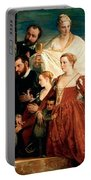 The Madonna Of The Cuccina Family Portable Battery Charger