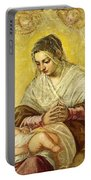The Madonna Of The Stars Portable Battery Charger
