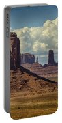The Majesty Of Monument Valley  Portable Battery Charger