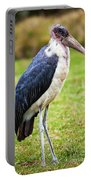 The Marabou Stork In Tanzania. Africa Portable Battery Charger