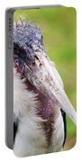 The Marabou Stork In Tanzania Portable Battery Charger