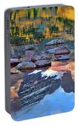 The Maroon Bells Reflected Portable Battery Charger