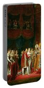 The Marriage Of Napoleon I 1769-1821 And Marie Louise 1791-1847 Archduchess Of Austria, 2nd April Portable Battery Charger