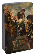 The Martyrdom Of Saint Mena Portable Battery Charger