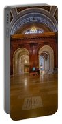 The Mcgraw Rotunda At The New York Public Library Portable Battery Charger