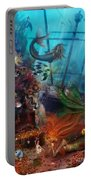 The Mermaids Treasure Portable Battery Charger