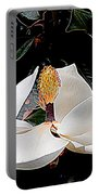 New Orleans Metamorphous Of The Southern Magnolia Spring Equinox In Louisiana Portable Battery Charger