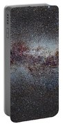 The Milky Way From Scorpio And Antares To Perseus Portable Battery Charger by Guido Montanes Castillo