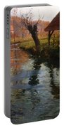 The Mill Stream Portable Battery Charger by Fritz Thaulow