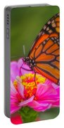 The Monarch's Flower Portable Battery Charger