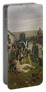 The Morning Of The Battle Of Waterloo Portable Battery Charger