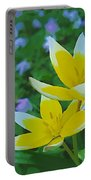 The Most Beautiful Flowers Portable Battery Charger