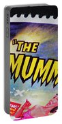 The Mummy Postage Stamp Print Portable Battery Charger