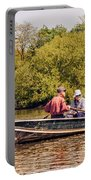 The Music Never Ends - Central Park Pond - Nyc Portable Battery Charger