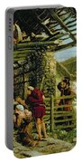 The Nativity Portable Battery Charger by William Bell Scott