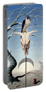 The Neolithic Totem Oil On Canvas Portable Battery Charger