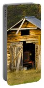 The Old Barn Portable Battery Charger by Heiko Koehrer-Wagner