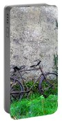 The Old Bike In The Irish Countryside Portable Battery Charger