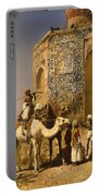 The Old Blue Tiled Mosque - India Portable Battery Charger