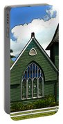 The Old Church In Hanalei Portable Battery Charger