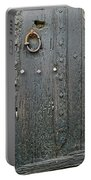 The Old Door Portable Battery Charger by France  Art