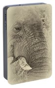 The Old Elephant Bull Portable Battery Charger