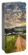 The Old Farm Lane Portable Battery Charger by Debra and Dave Vanderlaan