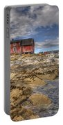 The Old Fisherman's Hut Portable Battery Charger by Heiko Koehrer-Wagner