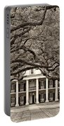 The Old South Sepia Portable Battery Charger by Steve Harrington