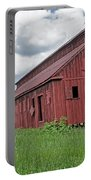 The Old Abandon Tobacco Barn Portable Battery Charger