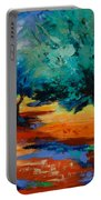 The Olive Trees Dance Portable Battery Charger