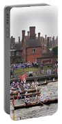 The Olympic Torch Leaves Hampton Court On The Final Leg Of Its J Portable Battery Charger