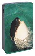 The Original Shamu Orca At Sea World San Diego California 1967 Portable Battery Charger by California Views Mr Pat Hathaway Archives