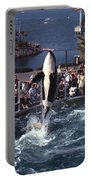 The Original Shamu Orca Sea World San Diego 1967 Portable Battery Charger