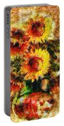 The Other Sunflowers Portable Battery Charger