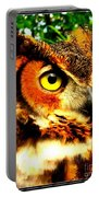 The Owl's Eye Portable Battery Charger