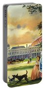 The Palace Of The Tuileries Portable Battery Charger by Andrew Howat
