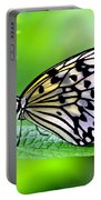 The Paper Kite Or Rice Paper Or Large Tree Nymph Butterfly Also Known As Idea Leuconoe 2 Portable Battery Charger